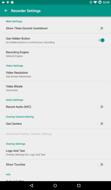 ADV Screen Recorder 3.2.1 Screen 13
