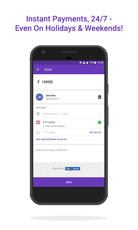 Android PhonePe – UPI Payments, Recharges & Money Transfer Screen 2