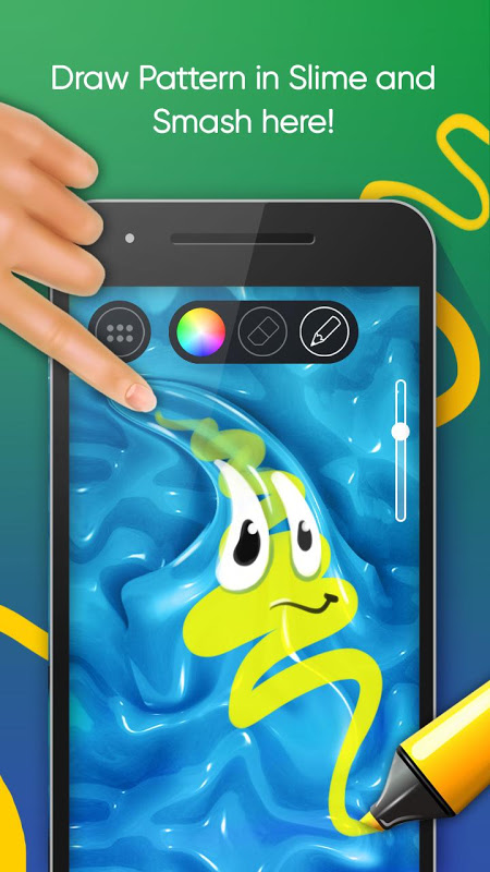 Android Smash Diy Slime - Fidget Slimy Screen 5
