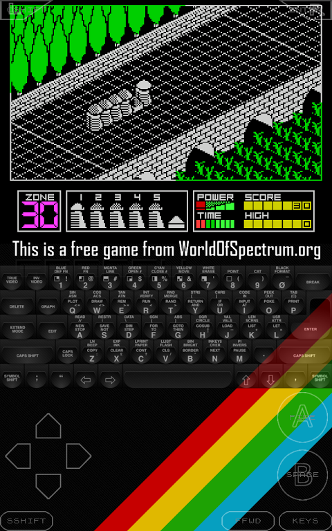 Android Speccy - ZX Spectrum Emulator Screen 15