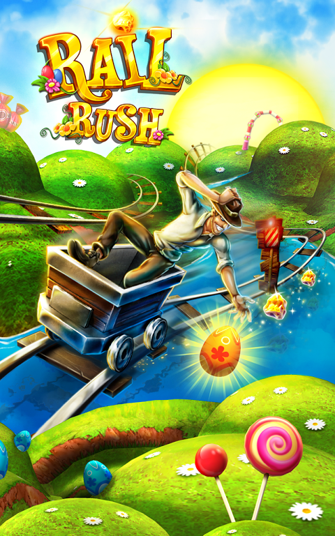 Rail Rush 1 8 0 APK Download by Miniclip com | Android APK