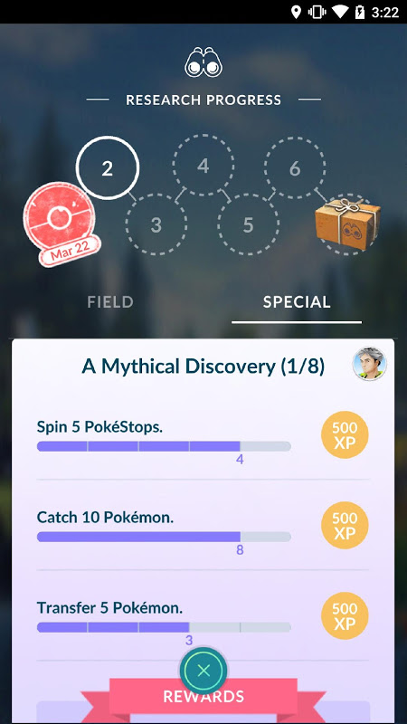 Android Pokémon GO Screen 3