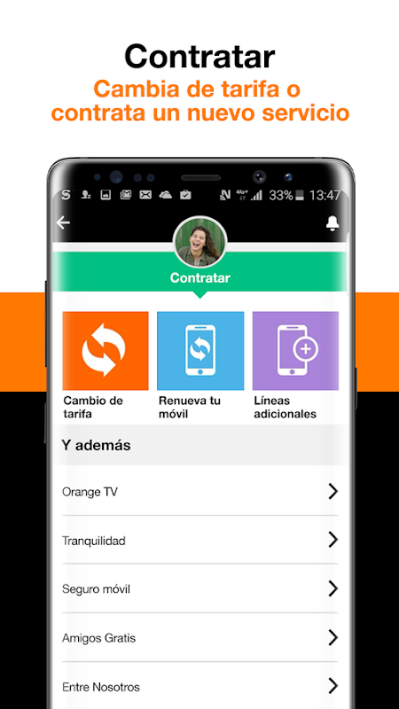 Mi Orange 6.5.1 Screen 4
