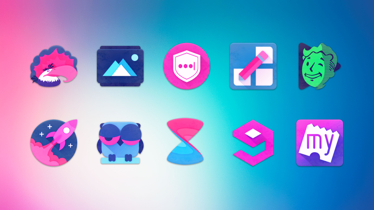 Android Unicorn Icon Pack Screen 6