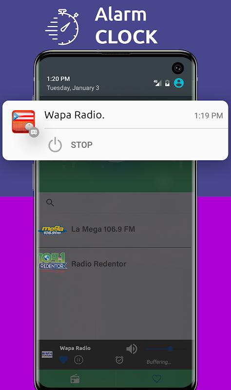 Android Free Puerto Rico Radio AM FM Screen 3