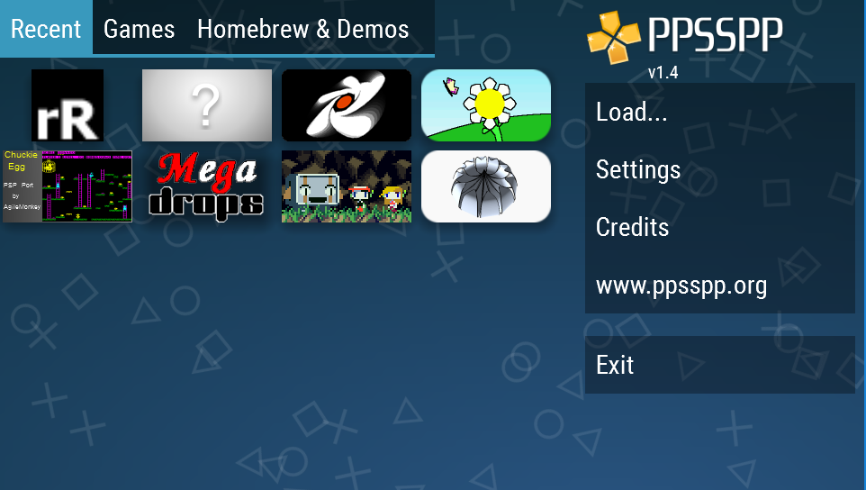Android PPSSPP Gold - PSP emulator Screen 4