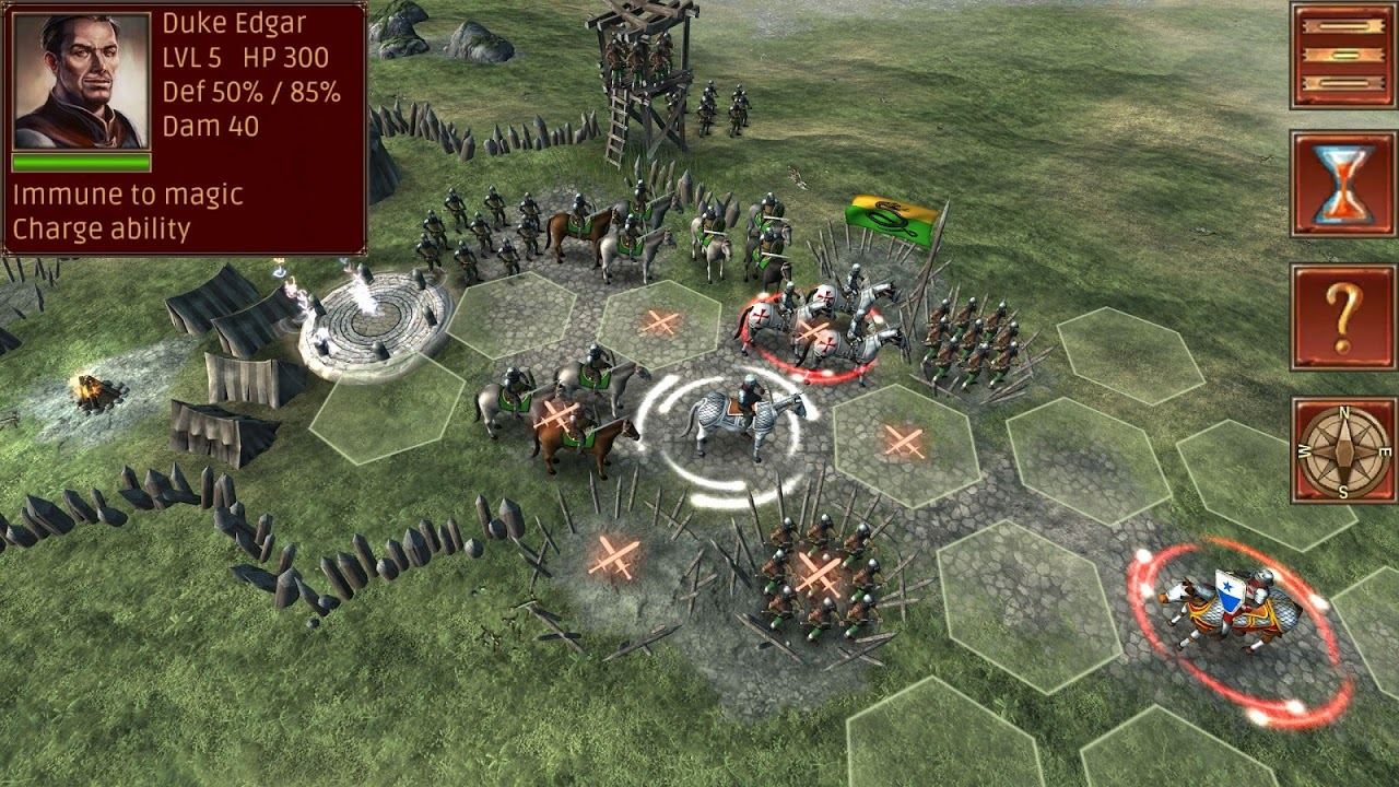 Android Hex Commander: Fantasy Heroes Screen 1