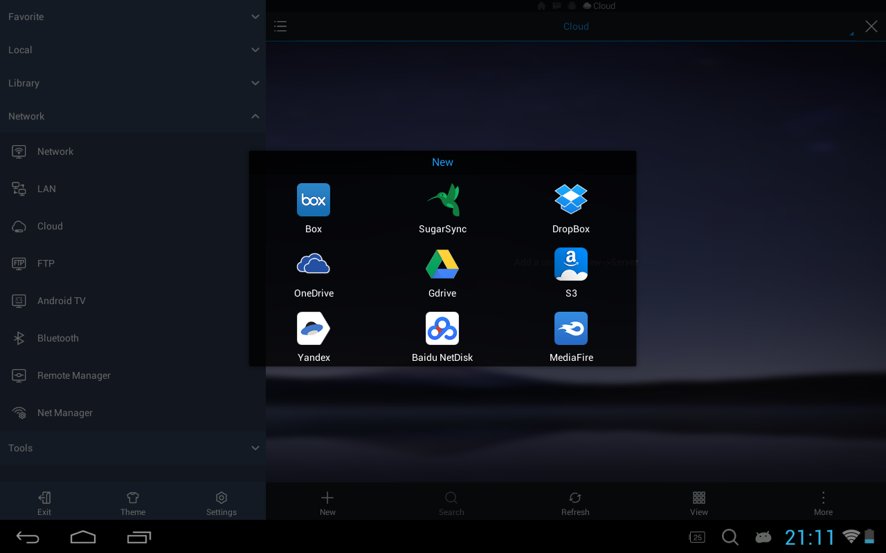 ES File Explorer/Manager PRO Pro 1.1.4.1 Screen 2