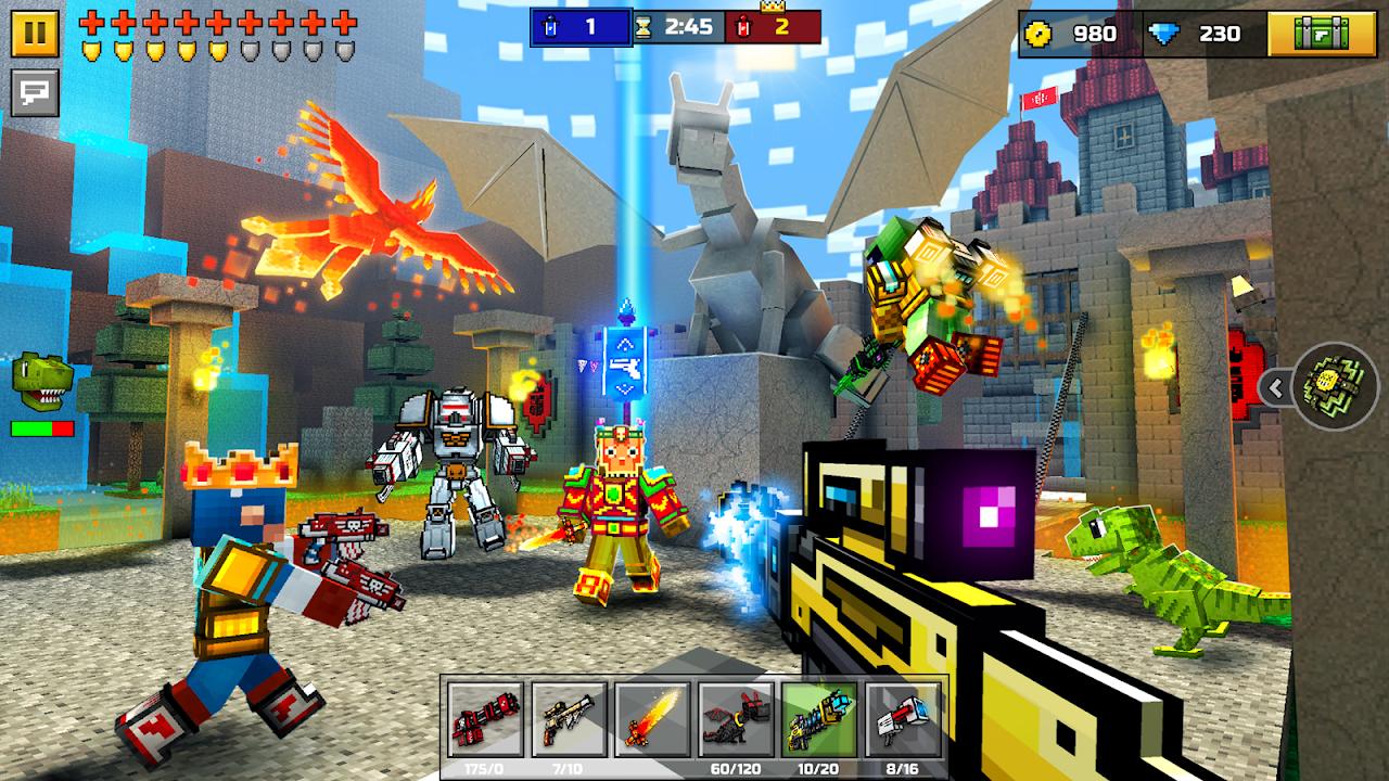 Pixel Gun 3D (Pocket Edition) 15.1.0 Screen 2