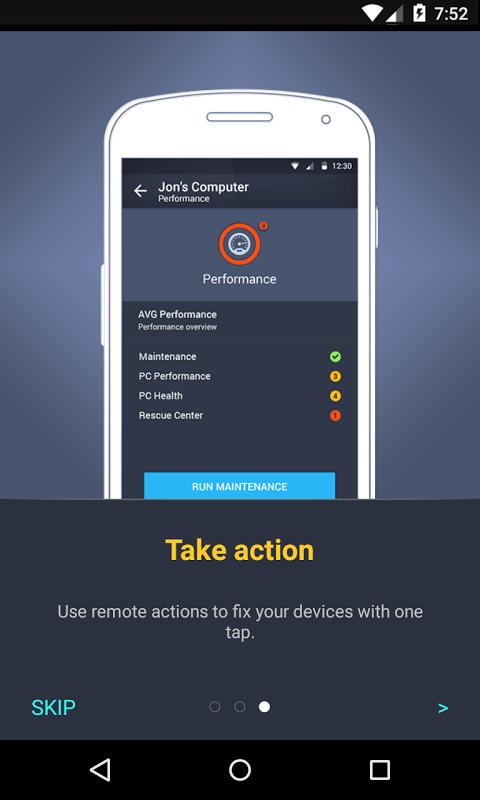 Android AVG?Zen Screen 2