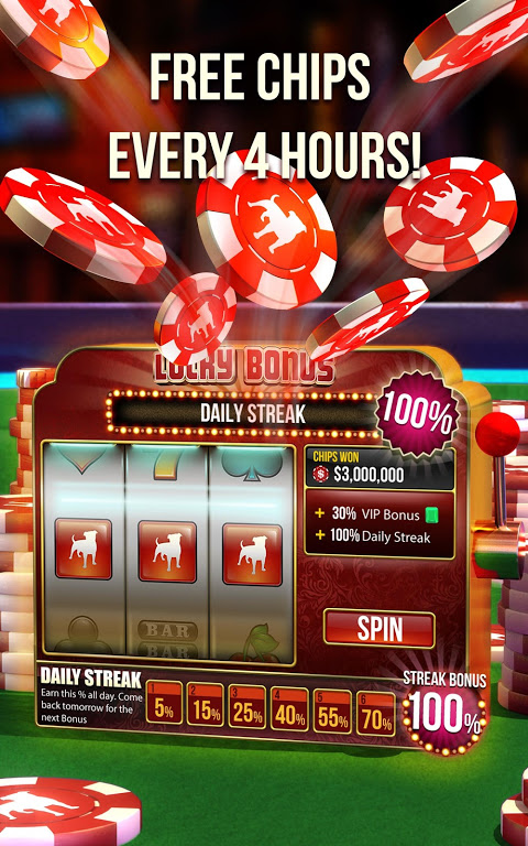 Android Zynga Poker – Texas Holdem Screen 6