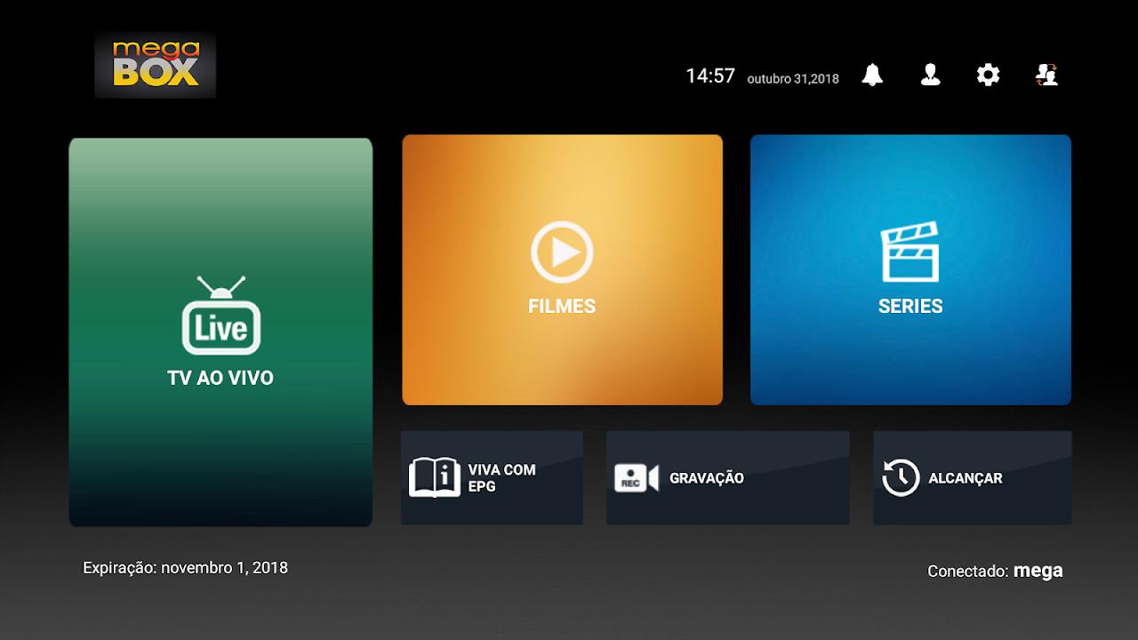 Android Megabox Play Screen 1