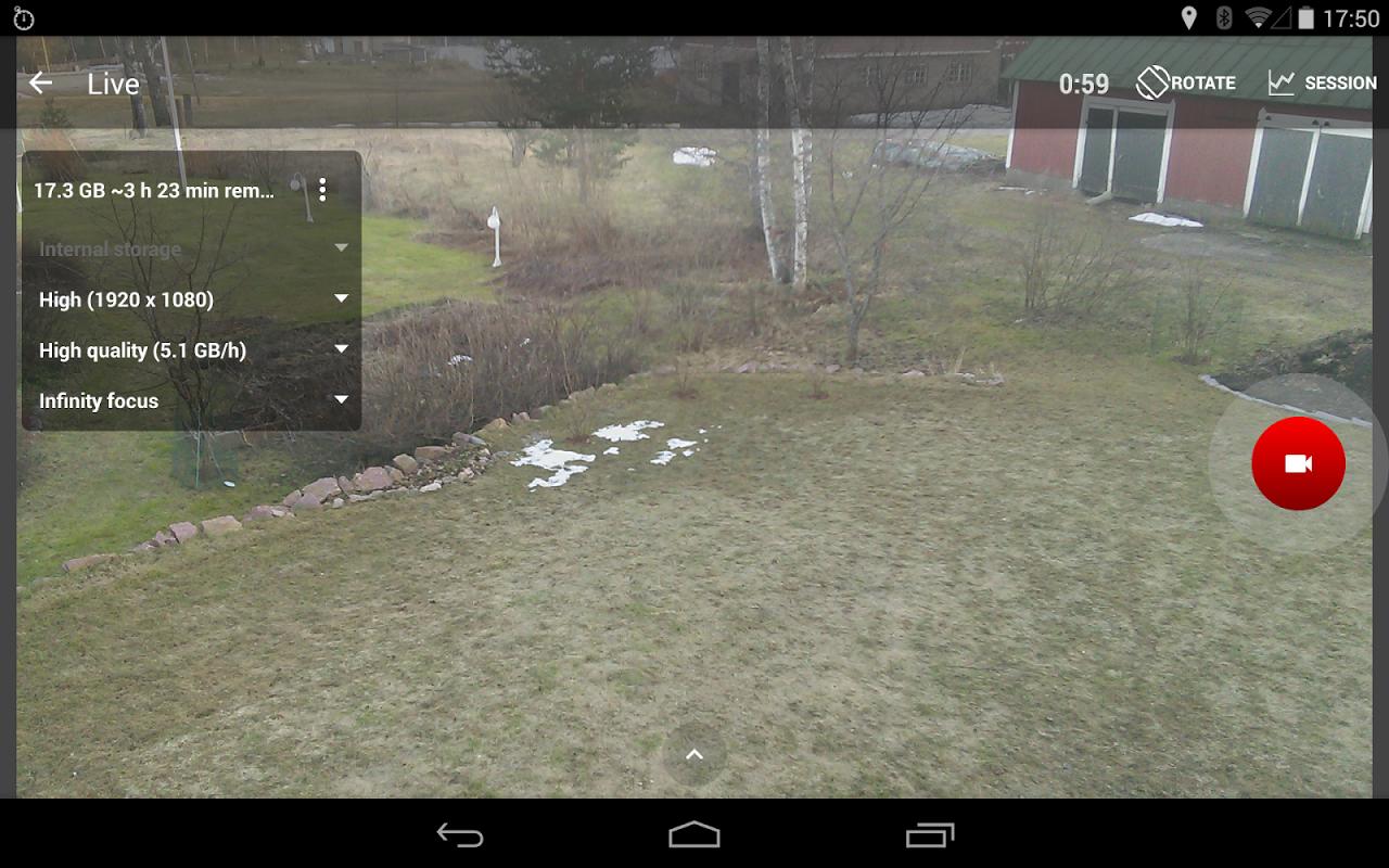 Android RaceChrono Pro Screen 20