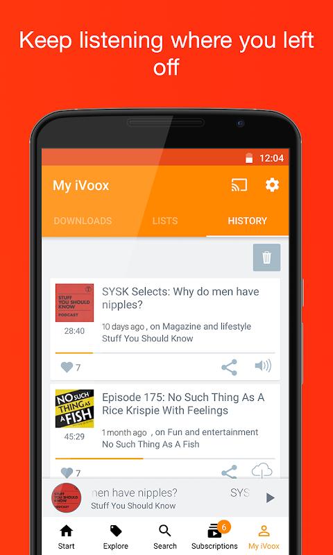Podcast & Radio iVoox 2.221 Screen 7