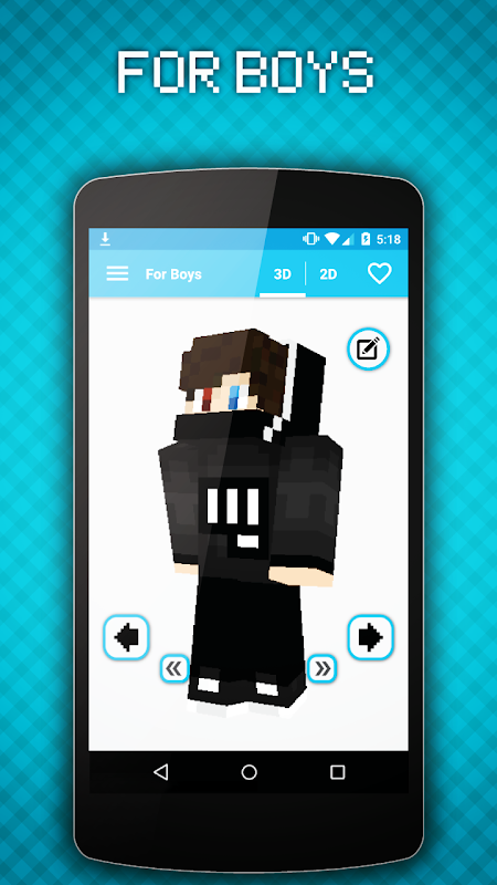 Android World of Skins Screen 6