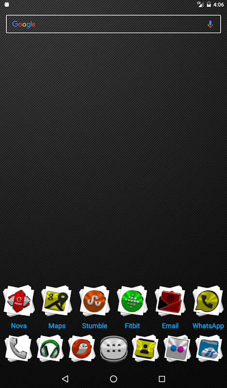 Android Stacks Icon Pack v4.2 Screen 16