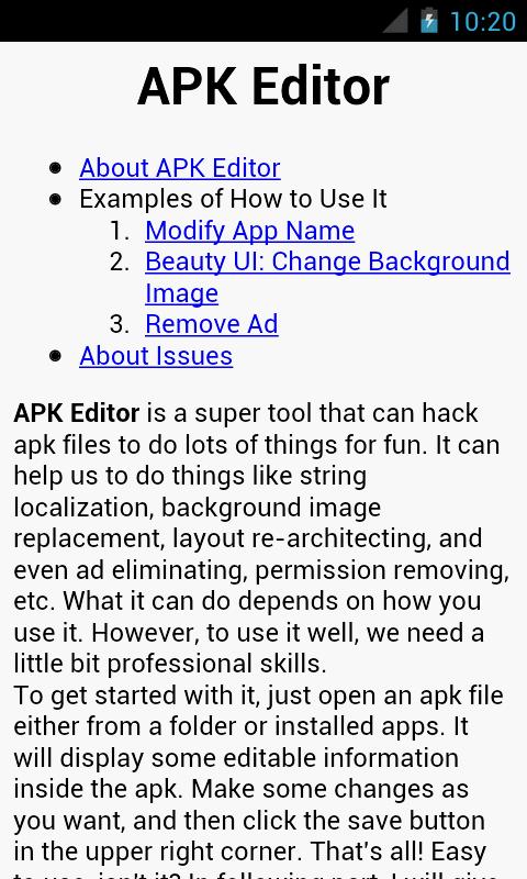 APK Editor Pro 1.9.10 Screen 5