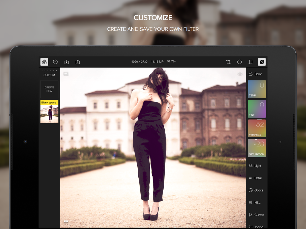 Polarr Photo Editor 2.1.2 Screen 3