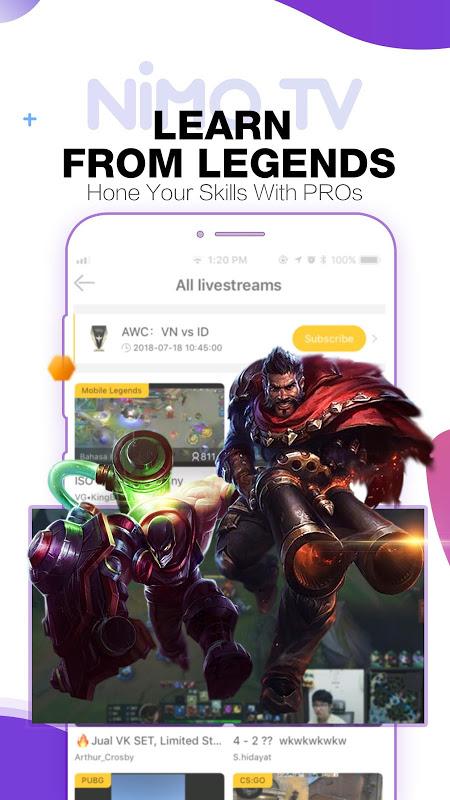 Nimo TV – Play. Live. Share. 1.5.11 Screen 7