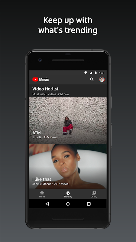 YouTube Music - stream music and play videos 3.05.54 Screen 3