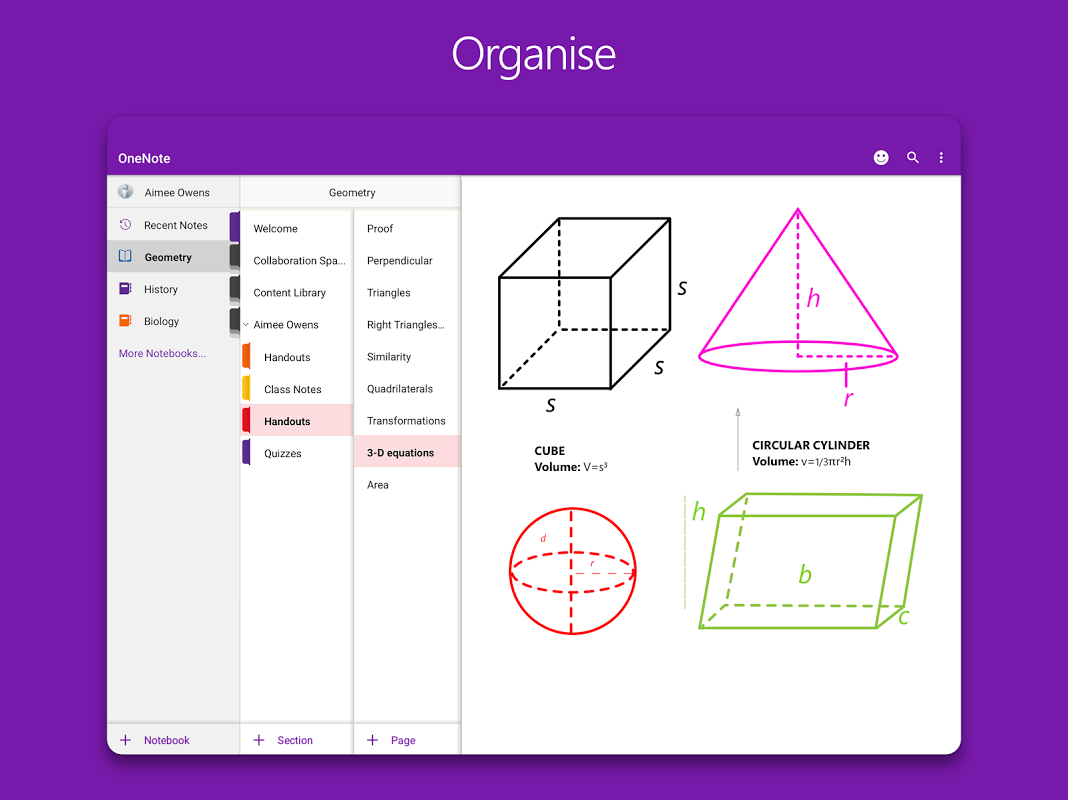 OneNote 16.0.8528.2052 Screen 9
