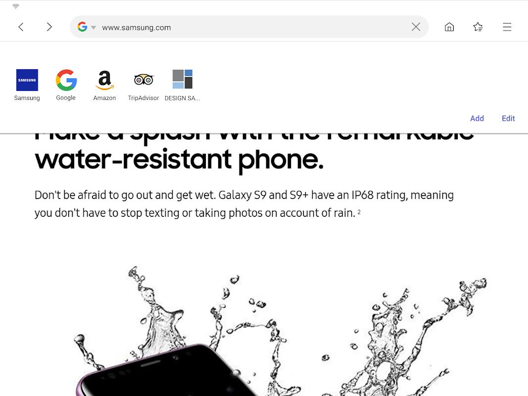 Samsung Internet Browser 9.2.00.70 Screen 15