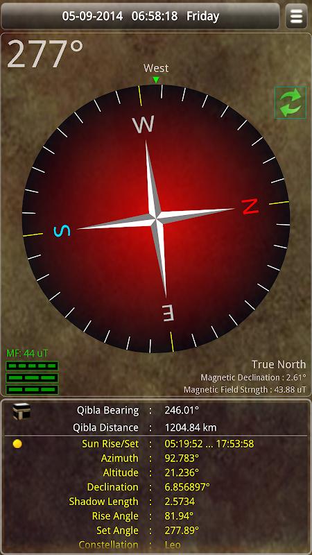 Sun & Moon Calendar v3.6.0 Screen 3