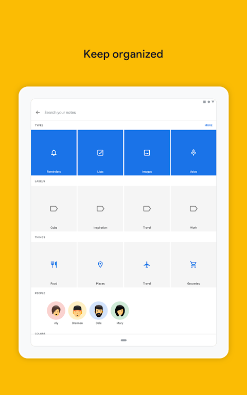 Google Keep - Notes and Lists 5.0.441.03.40 Screen 12
