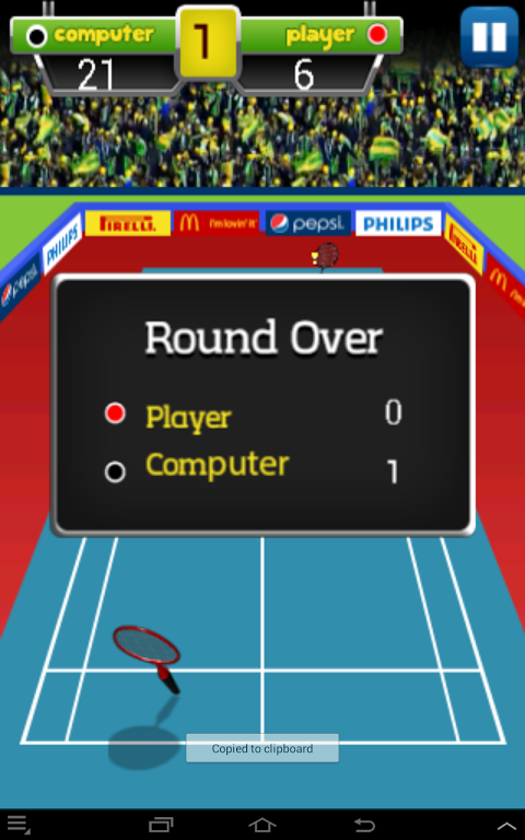 Android Badminton Champion Screen 7
