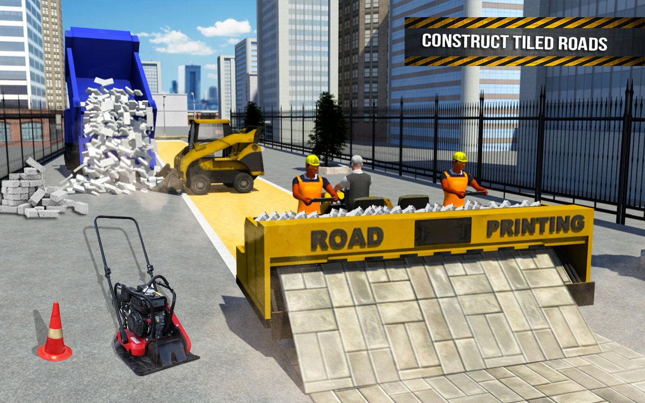 Pothole Repair Heavy Duty Truck: Road Construction 1.3 Screen 7