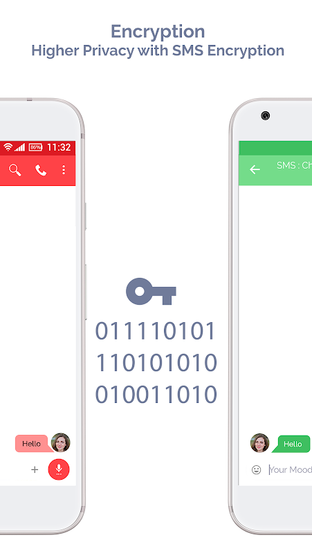 Android Mood Messenger - SMS & MMS Screen 15