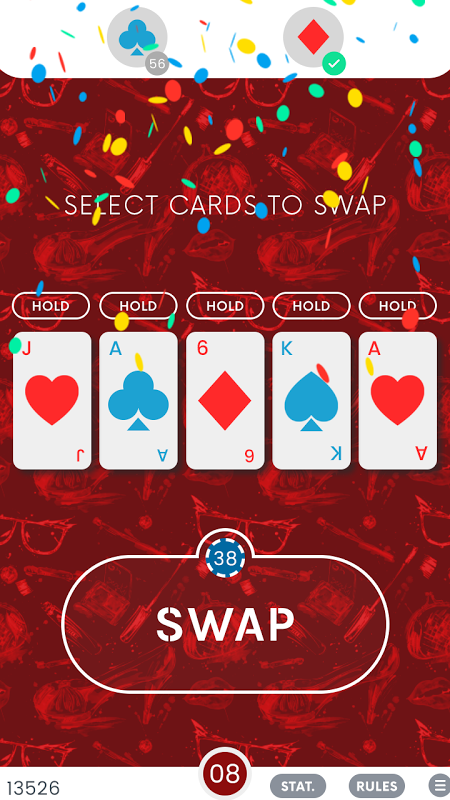 Android Daily Solitaire: Poker Saga Screen 5