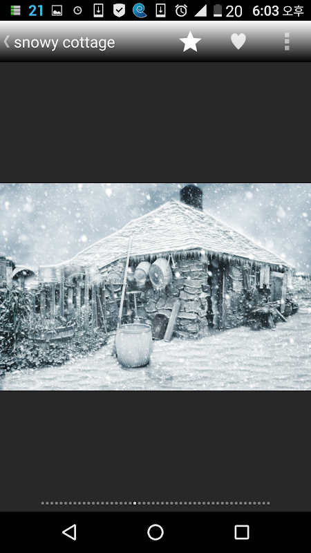Android Winter Story Pro Screen 3