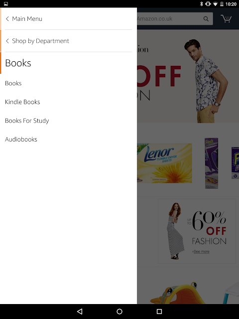 Amazon for Tablets 18.12.0.800 Screen 3