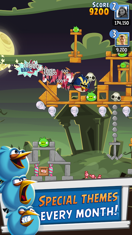 Android Angry Birds Friends Screen 12
