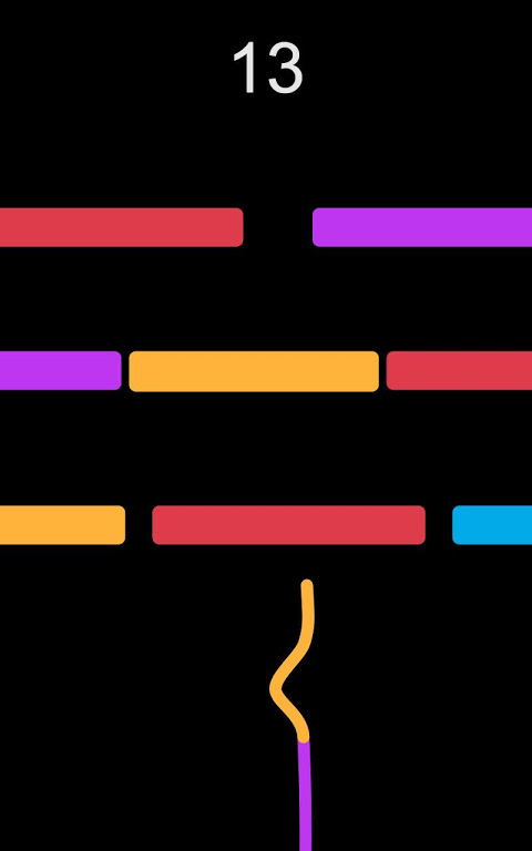 Android Snake VS. Colors Screen 1