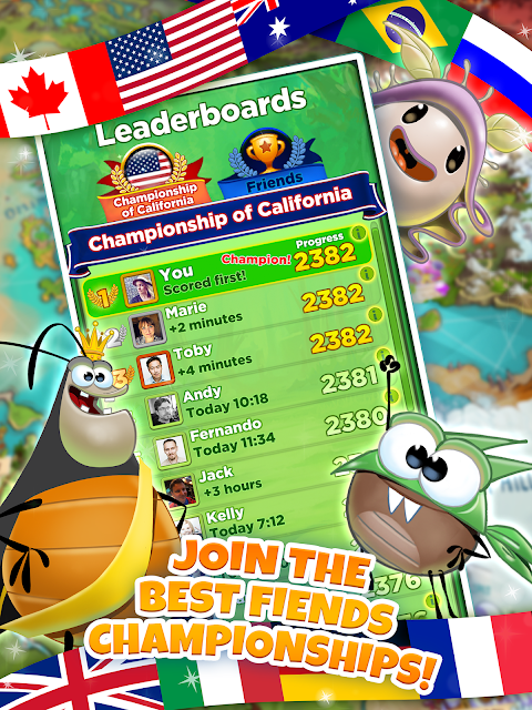 Android Best Fiends - Puzzle Adventure Screen 18