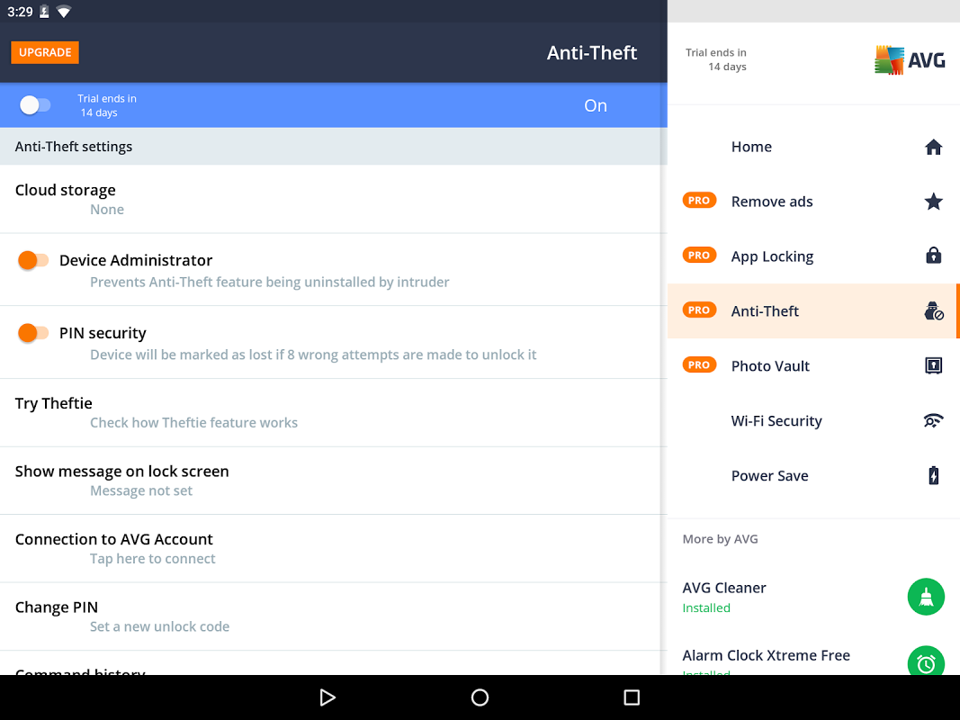 Android AVG AntiVirus FREE for Android Security 2017 Screen 9