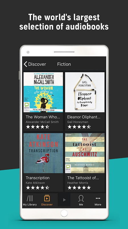 Audiobooks from Audible 2.31.1 Screen 3
