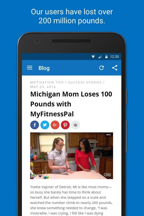 Calorie Counter - MyFitnessPal 18.11.6 Screen 4