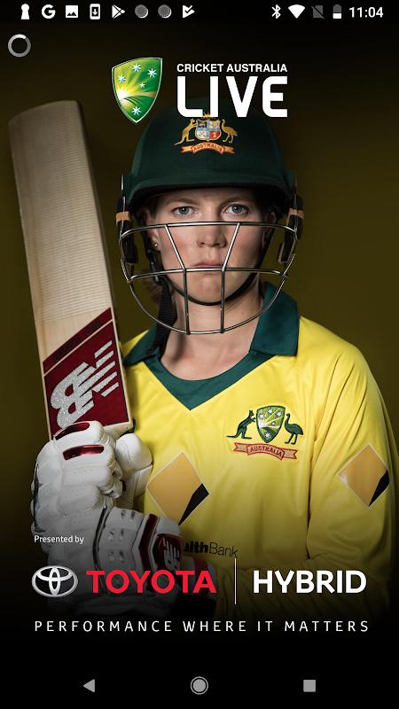 Android Cricket Australia Live Screen 3