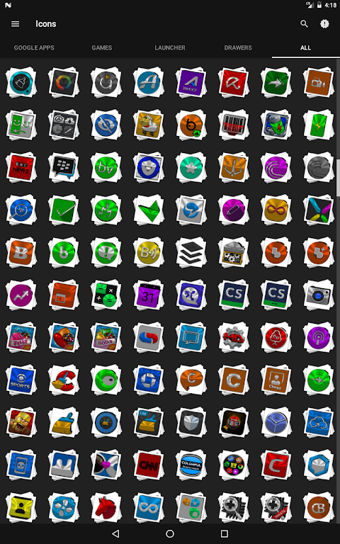 Android Stacks Icon Pack v4.2 Screen 14