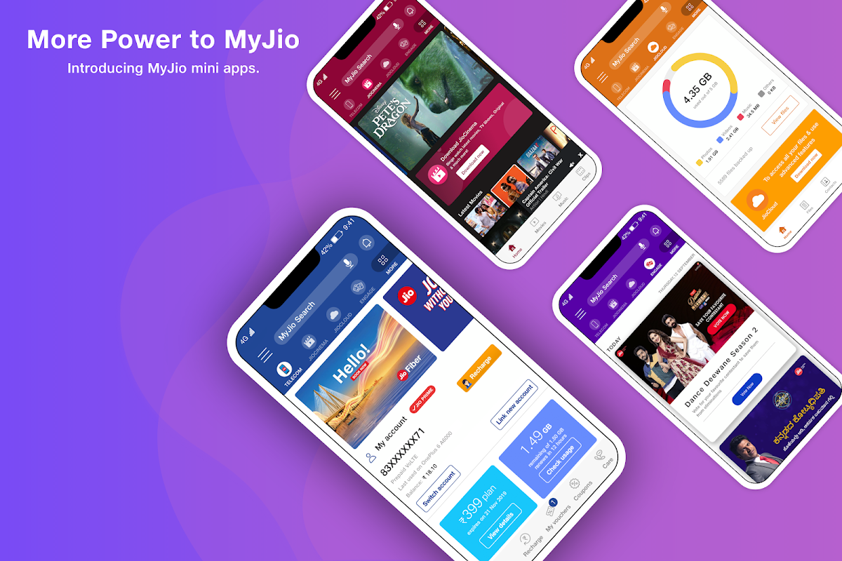 MyJio: For Everything Jio 6.0.04 Screen 1