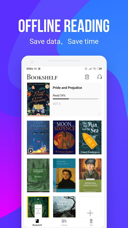 Android AnyBooks - read millions Newest Books with one tap Screen 1