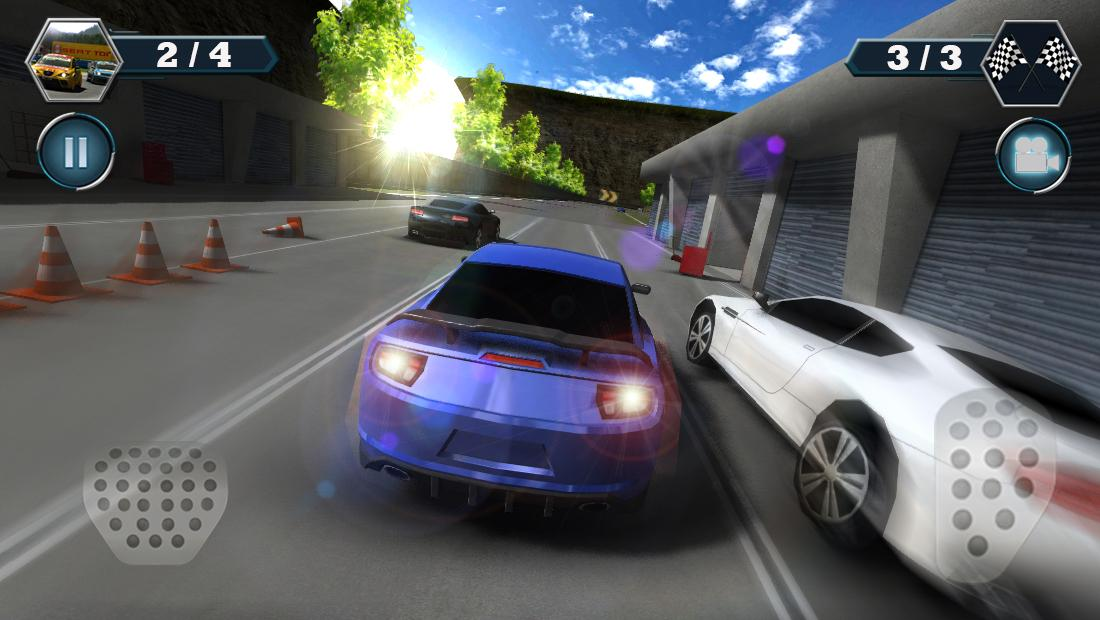Android Car Racing Screen 5