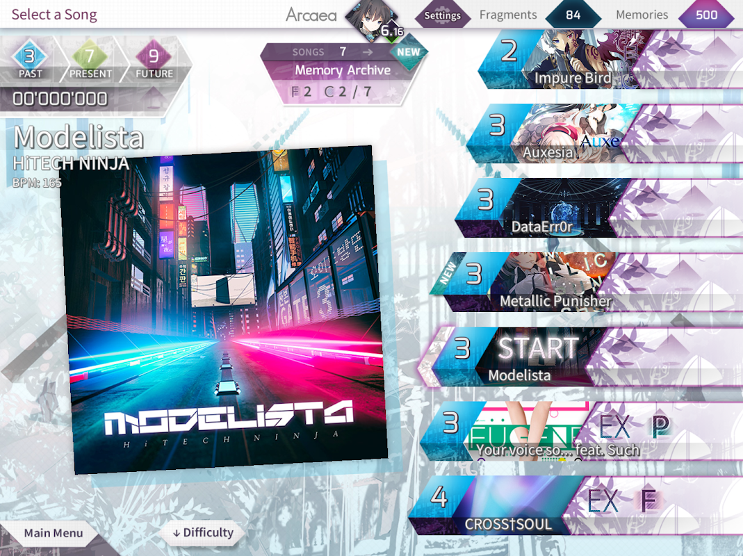 Arcaea - New Dimension Rhythm Game 2.0.3 Screen 9