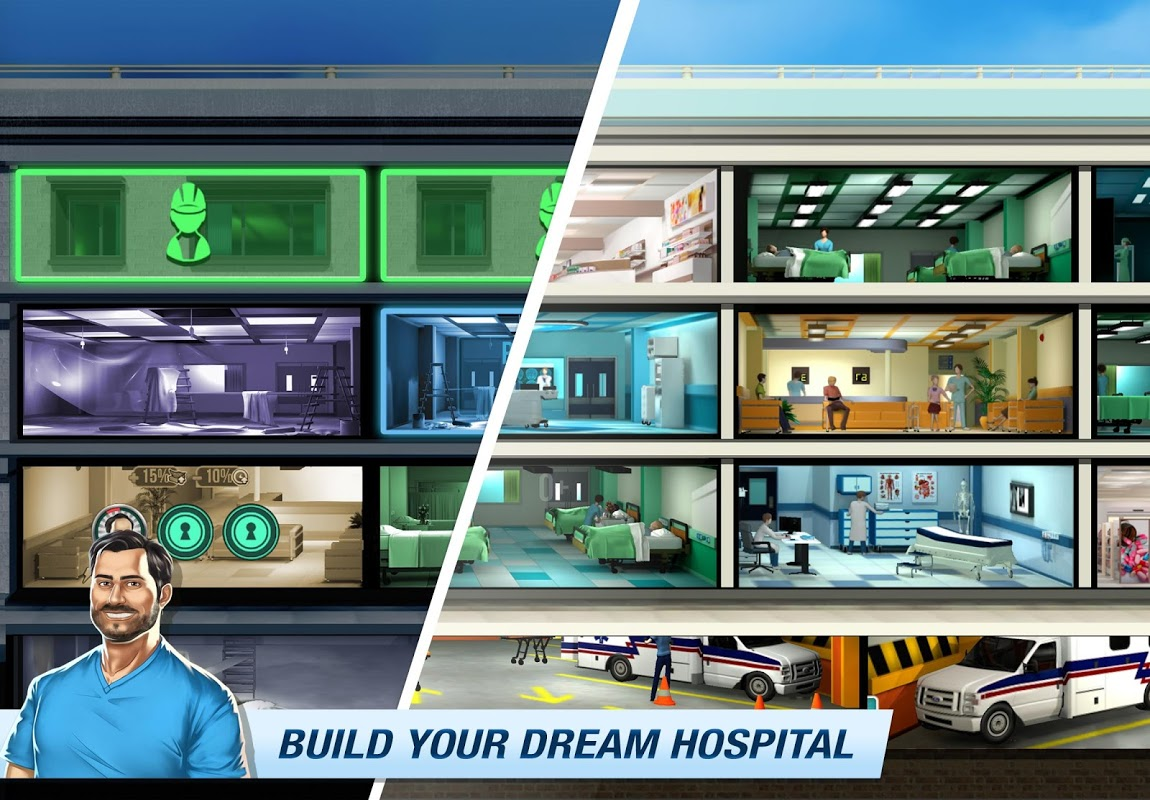 Operate Now: Build your own hospital 1.34.4 Screen 3