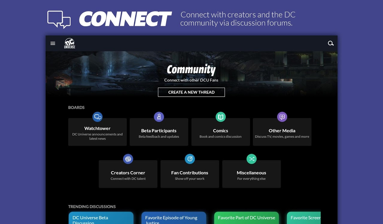 Android DC Universe - Android TV Screen 3