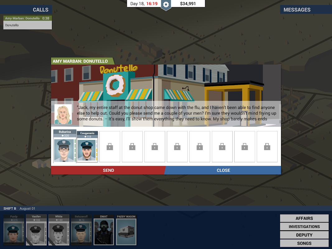 Android This Is the Police Screen 11