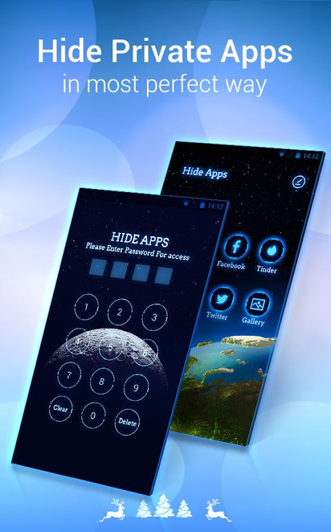 Android U Launcher Lite – FREE Live Cool Themes, Hide Apps Screen 2
